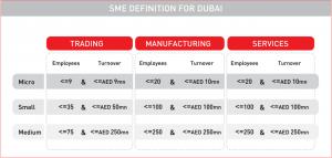 SME Definition for Dubai