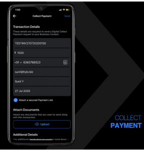 collect payment mobile app - Hylobiz