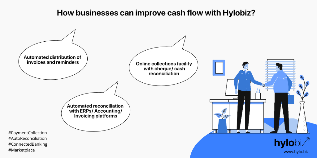 Three ways businesses can improve cash flow with Hylobiz