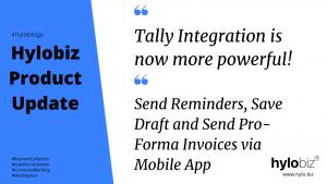Hylobiz Tally Integration and Hylobiz Mobile App